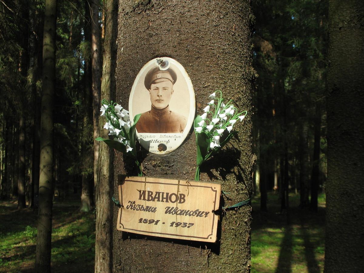 Памятная табличка К. И. Иванову. Фото 23.08.2007