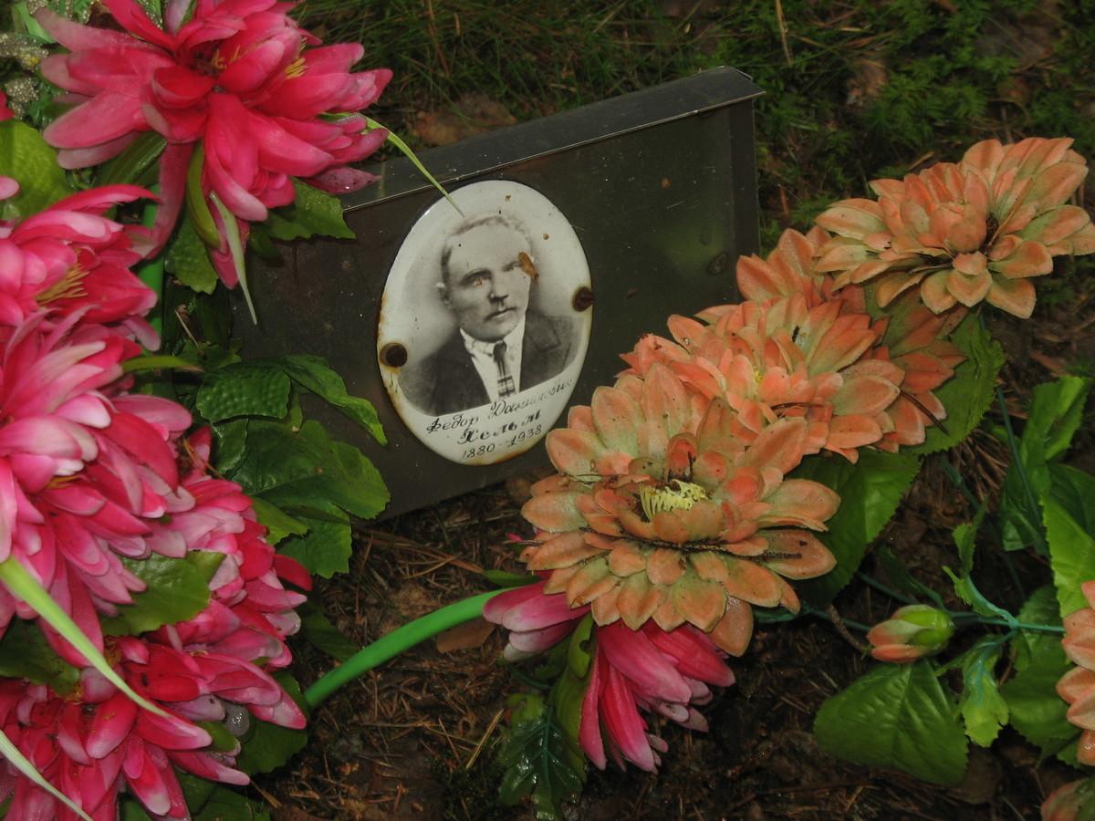 Памятная табличка Ф. Д. Хельму. Фото 25.08.2007