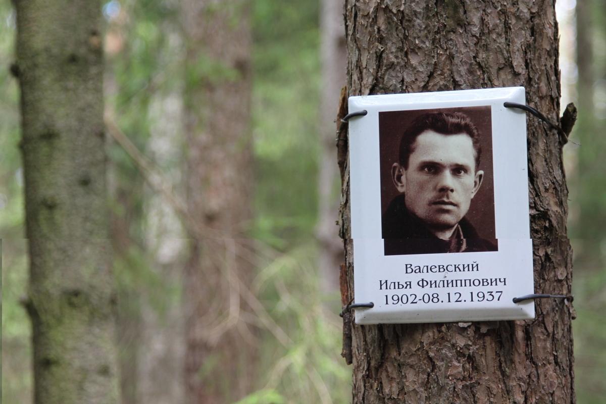 Памятная табличка И. Ф. Валевскому. Фото 05.06.2017