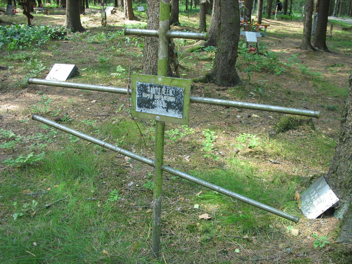 Памятный крест С. П. Пантелееву. Фото 23.08.2006