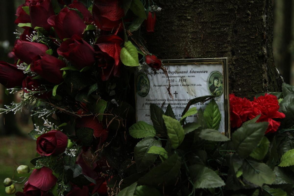 Памятный знак Ф. А. Забельскому. Фото 05.03.2011