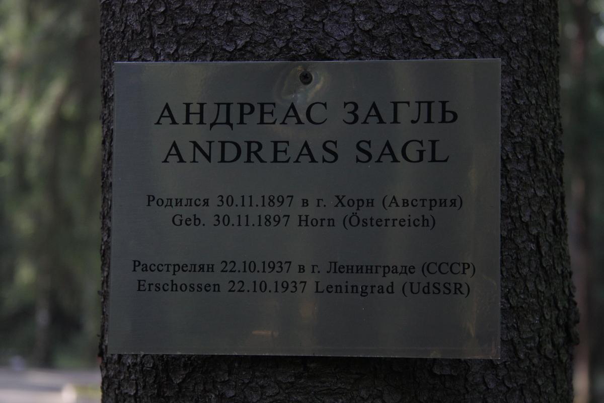 Памятная табличка А. А. Заглю. Фото 18.05.2017