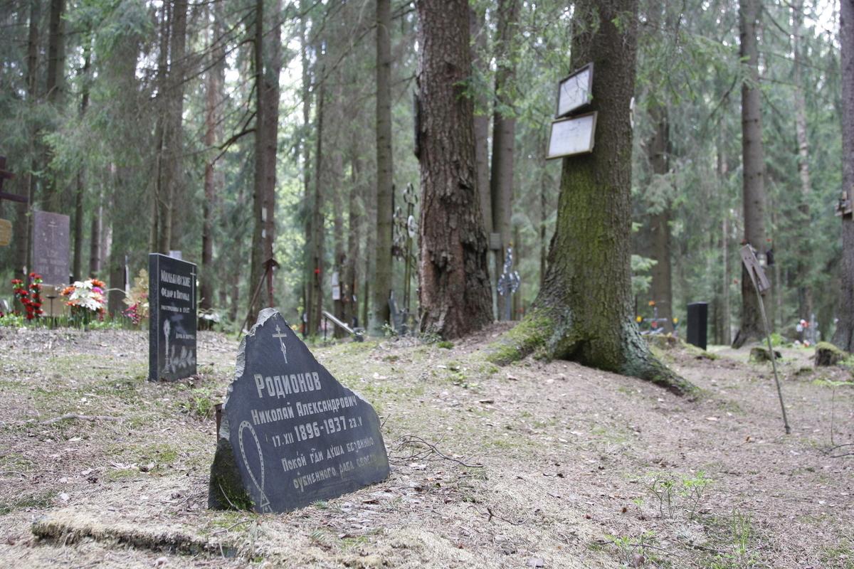 Памятный знак Н. А. Родионову. Фото 18.05.2017