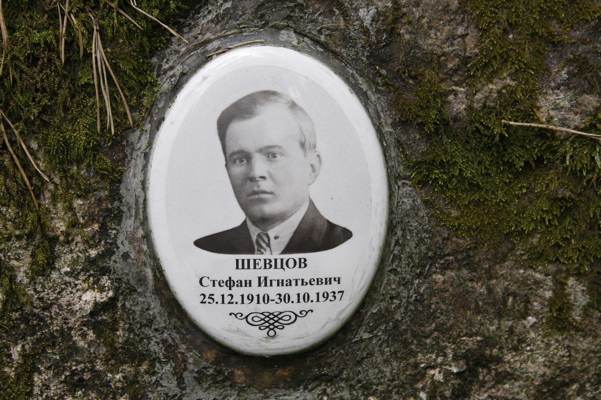 Памятная табличка С. И. Шевцову. Фото 05.06.2017